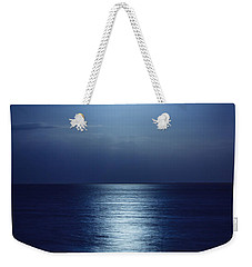 Blue Moon Rising Weekender Tote Bag