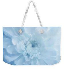 Blue Mum Luminous Painted Blossom Weekender Tote Bag