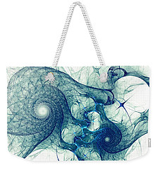 Blue Octopus Weekender Tote Bag