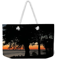 Blue Pacific At Sunset Weekender Tote Bag