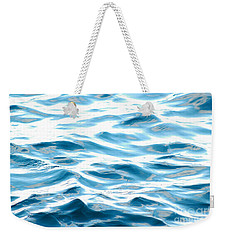 Blue Pacific Ocean Weekender Tote Bag