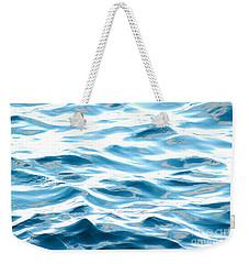 Blue Pacific Ocean Weekender Tote Bag by Lehua Pekelo-Stearns