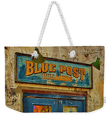 Blue Post Billiards Weekender Tote Bag