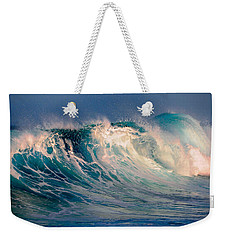 Blue Power. Indian Ocean Weekender Tote Bag