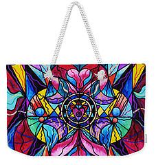 Blue Ray Healing Weekender Tote Bag