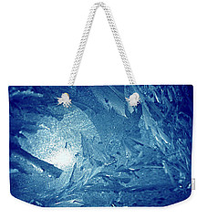 Weekender Tote Bag featuring the photograph Blue by Richard Thomas