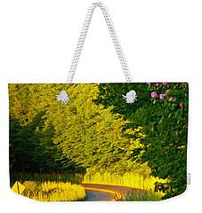Weekender Tote Bag featuring the photograph Blue Ridge Afternoon by John Haldane