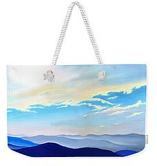 Blue Ridge Blue Above Weekender Tote Bag