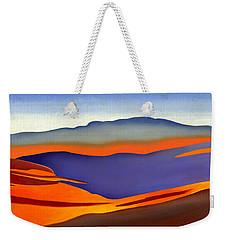 Blue Ridge Mountains East Fall Art Abstract Weekender Tote Bag