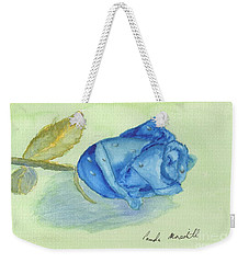 Blue Rose Weekender Tote Bag