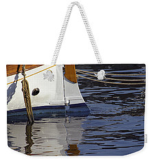 Blue Rudder Weekender Tote Bag