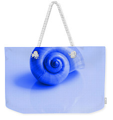 Blue Shell Weekender Tote Bag