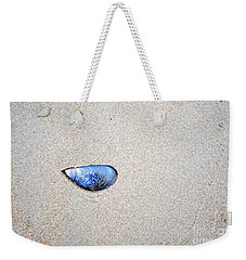 Blue Shell Weekender Tote Bag by Randi Grace Nilsberg