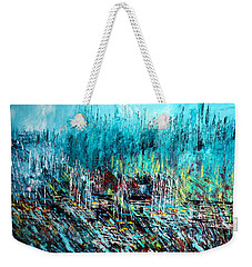 Blue Skies Chicago - Sold Weekender Tote Bag