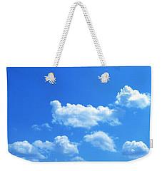 Blue Skies IIi Weekender Tote Bag