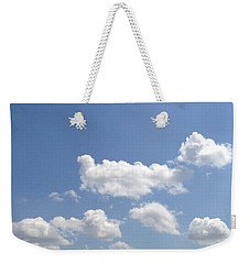 Blue Skies Weekender Tote Bag by M West