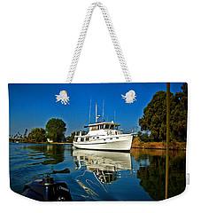 Blue Sky And Blue Water Weekender Tote Bag