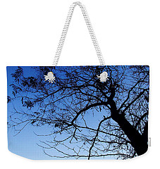 Weekender Tote Bag featuring the photograph Blue Sky by Andrea Anderegg