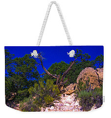 Blue Sky Over The Canyon Weekender Tote Bag