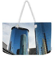 Blue Skyscrapers Weekender Tote Bag