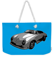 Blue Speedster Weekender Tote Bag