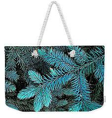 Blue Spruce Weekender Tote Bag by Daniel Thompson
