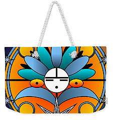 Blue Star Kachina 2012 Weekender Tote Bag