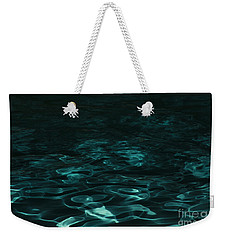 Blue Swirl One Weekender Tote Bag