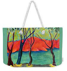 Blue Tree 2 Weekender Tote Bag