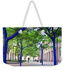 Blue Tree Walkway Weekender Tote Bag