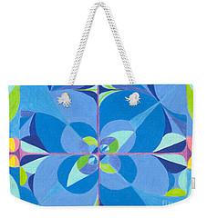 Blue Unity Weekender Tote Bag