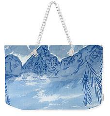 Blue View #2 Weekender Tote Bag