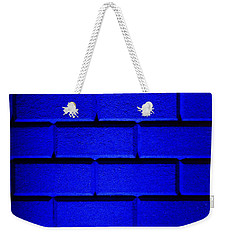 Blue Wall Weekender Tote Bag by Semmick Photo
