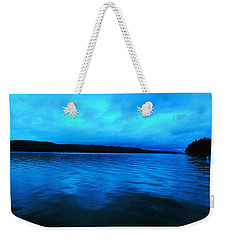 Blue Water In The Morn  Weekender Tote Bag