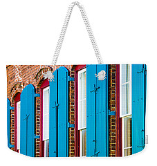 Blue Windows Weekender Tote Bag
