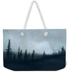 Blue Woods Weekender Tote Bag by Priska Wettstein