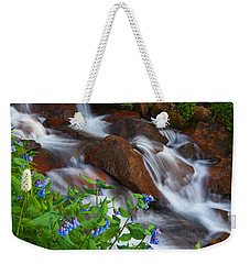 Bluebell Creek Weekender Tote Bag