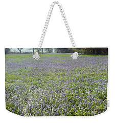 Bluebell Fields Weekender Tote Bag
