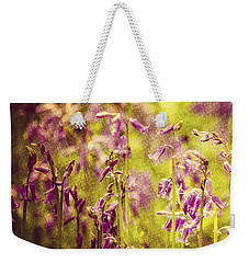 Bluebell In The Woods Weekender Tote Bag by Spikey Mouse Photography