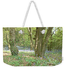 Bluebell Wood Weekender Tote Bag by John Williams