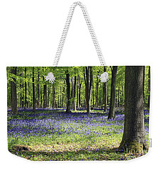 Bluebell Wood Uk Weekender Tote Bag
