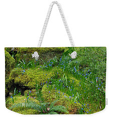 Weekender Tote Bag featuring the photograph Bluebells  by Marilyn Wilson