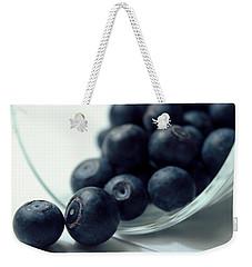 Blueberries Weekender Tote Bag by Joseph Skompski