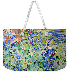 Bluebonnet Beauties Weekender Tote Bag