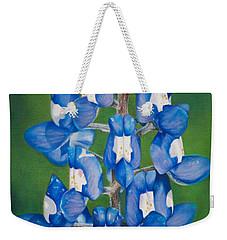 Bluebonnet Buffalo Clover Weekender Tote Bag