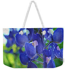 Bluebonnet Charmer Weekender Tote Bag