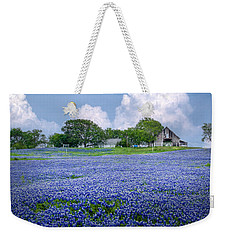 Bluebonnet Farm Weekender Tote Bag