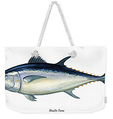 Bluefin Tuna Weekender Tote Bag