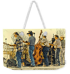 Bluegrass Evening Weekender Tote Bag