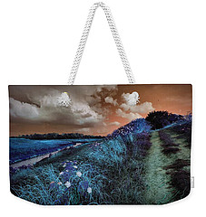 Bluegrass Weekender Tote Bag by Linda Unger